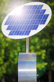Solar panel. Royalty Free Stock Photo