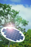 Solar panel. Royalty Free Stock Images