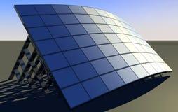 Solar Panel. 3d solar energy power background Royalty Free Stock Photos
