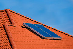 Solar panel. Solar panel power green free energy stock photography
