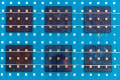Solar panel abstarct background Stock Images