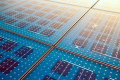 Solar panel abstarct background Stock Photography
