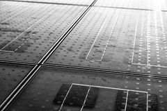 Solar panel abstarct background Stock Photo