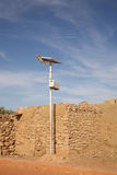 Solar Panel in Africa Royalty Free Stock Images