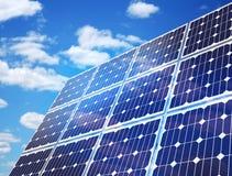 Solar Panel Against Blue Sky Royalty Free Stock Photos