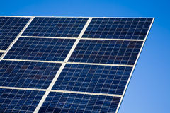 Solar Panel against blue sky Royalty Free Stock Photo