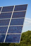 Solar Panel against blue sky Stock Image