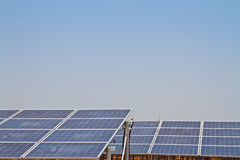 Solar Panel against blue sky Stock Image