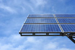 Solar panel against sky Royalty Free Stock Photography