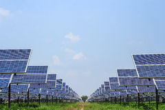 Solar panel alternative  energy Stock Photo