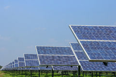 Solar panel  alternative  energy Stock Photos