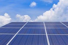 Solar panel alternative  energy Stock Image