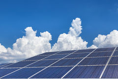 Solar panel alternative energy from the sun Royalty Free Stock Photography