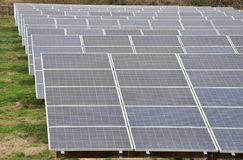 Solar Panel Array Stock Image