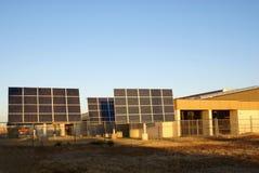 Solar Panel Array Royalty Free Stock Photography