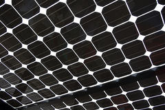Solar Panel as abstract background pattern image Stock Images