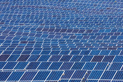 Solar panel background Stock Photos