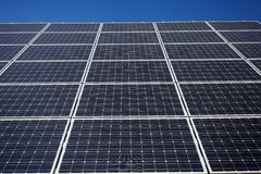 Solar panel background Royalty Free Stock Images