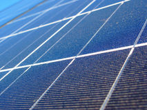 Solar panel background Stock Images