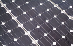 Solar panel background Stock Image