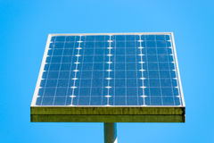 Solar panel. On a background of clear sky Royalty Free Stock Photos