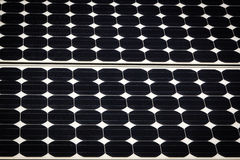 Solar Panel background. A solar Panel collecting energy from the sun Royalty Free Stock Images