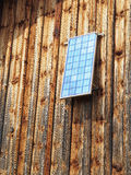 Solar panel barn Royalty Free Stock Photo