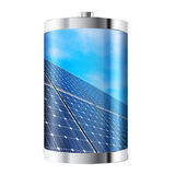 Solar Panel Battery Royalty Free Stock Photos