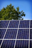 Solar Panel and blue sky Royalty Free Stock Image