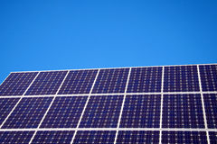 Solar Panel and blue sky. Green Photography: Solar Panel and blue sky Stock Photos