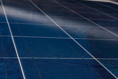 Solar Panel Blue Texture Close Detail Energy Renewable Device Installation Stock Photos