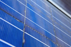 Solar panel cell Stock Image