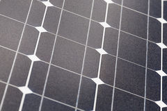 Solar Panel Cells Royalty Free Stock Photo