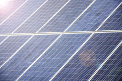Solar panel cells Royalty Free Stock Photography