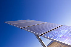 Solar panel for clean energy Royalty Free Stock Photos