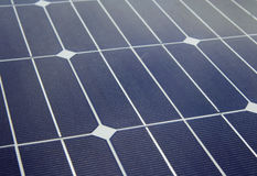 Solar Panel close up Stock Image