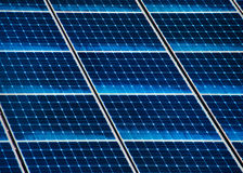 Solar panel close Stock Photography