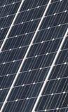 Solar panel closeup Stock Photography