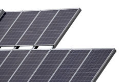 Solar Panel Closeup Stock Photo