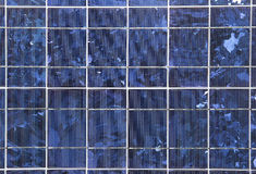 Solar panel. Closeup of a solar panel Stock Photo