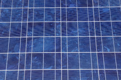 Solar panel closeup Stock Images