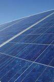 Solar panel collector Stock Photo