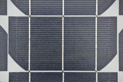Solar panel collector closeup view Stock Images