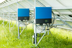 Solar panel collector Royalty Free Stock Photo