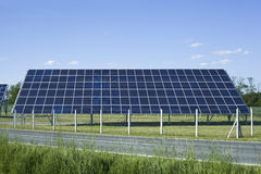 Solar Panel Collector Royalty Free Stock Image