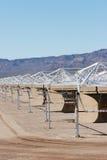 Solar panel construction Stock Photography
