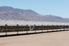 Solar panel construction Royalty Free Stock Photo