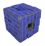 Solar Panel Cube Socket Royalty Free Stock Images