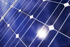 Solar panel detail Royalty Free Stock Image