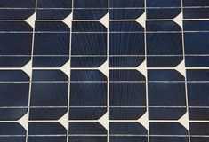 Solar panel detail Stock Images